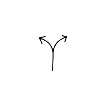 2方向矢印のアイコンのアイキャッチ用画像