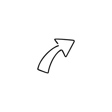 上向きの太い矢印のアイコンのアイキャッチ用画像