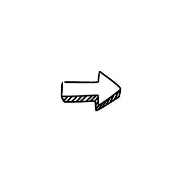影付きの太い矢印のアイコンのアイキャッチ用画像