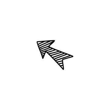 斜線塗りつぶし矢印のアイコンのアイキャッチ用画像